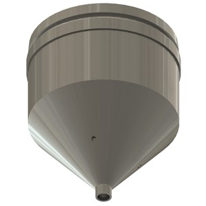 NZA-030-ROUND-REFLOW NOZZLE, ROUND, 3.0MM I.D.