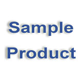 S-AFM-SAMPLE, ANTI-FATIGUE VINYL MAT, 8'' x 10''
