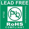 47102-LABEL,LEAD-FREE,RoHS COMPLIANT 3IN CORE, ROLL OF 500