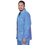 SMOCK, STATSHIELD, JACKET, KNITTED CUFFS, BLUE, 6XLARGE, W/1 DYE-SUBLIMATION