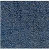 CARPET TILE, STATGUARD, BLUE SOLID, 1/2M SQ, 43SF