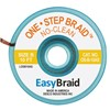 "DESOLDERING BRAID, ONE STEP, 0.050"" X 10', ANTISTATIC, 25/PACK"