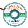 "DESOLDERING BRAID, ONE STEP, 0.075"" X 10', ANTISTATIC, 25/PACK"