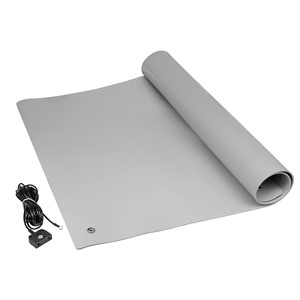 "TM2436L3GR-L-MAT KIT, PREMIUM 3-LAYER VINYL GRAY, 0.135"" x 24"" x 36"""