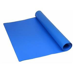"MAT ROLL, PREMIUM 3-LAYER VINYL, BLUE, 0.135""x24""x100'"