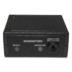 WSMONITOR2-230VAC-CONSTANT MONITOR, WITH UK/ASIA POWER ADAPTER